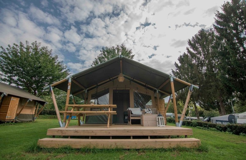 New: Luxury Glamping Tent